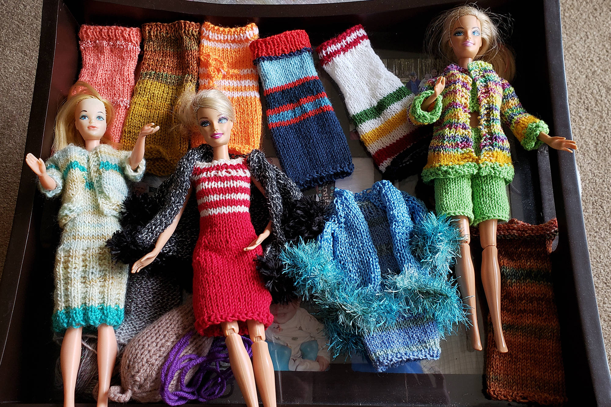 98-year-old North Okanagan woman designs clothes for Barbie