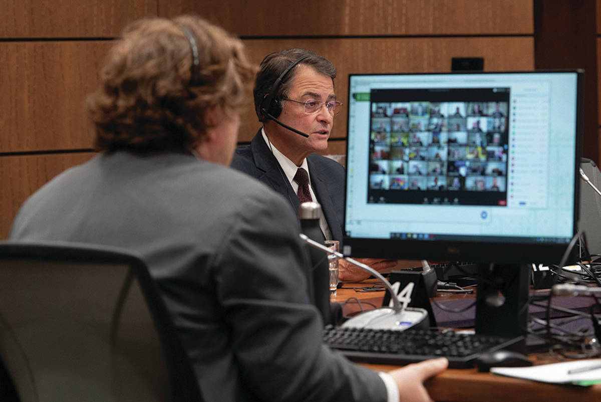 Speaker of the House of Commons Anthony Rota speaks during a virtual session of Parliament Tuesday April 28, 2020 in Ottawa. THE CANADIAN PRESS/Adrian Wyld