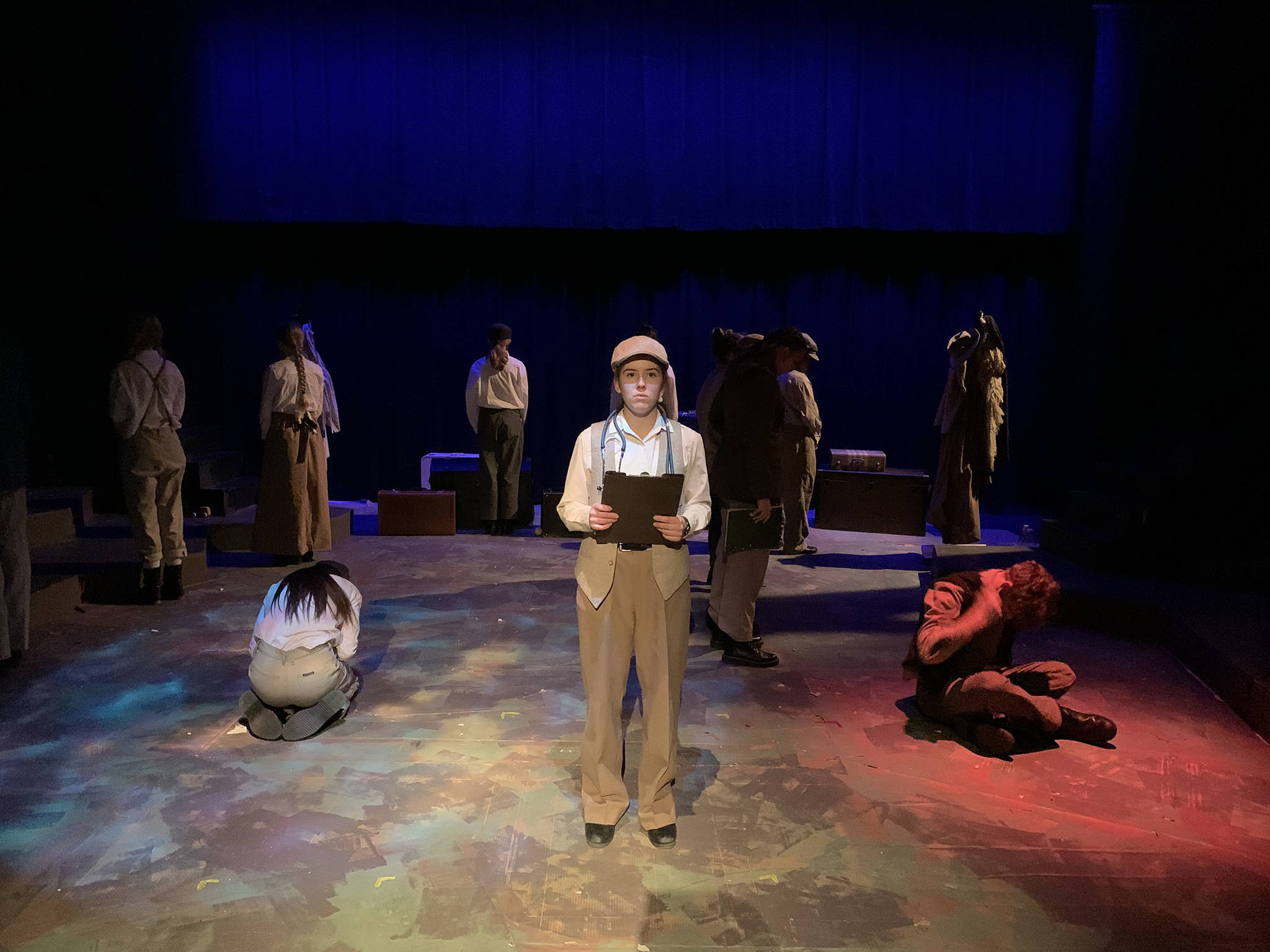 Seaton Secondary's 27th Street Theatre Company presents Seeds of Hope: A Story of Ukrainian Internment in Canada, streaming Feb. 12-15 through ticketseller.ca. (27th Street Theatre photo)